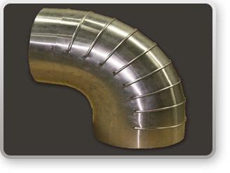 how to cut short radius insulation 90 elbows
